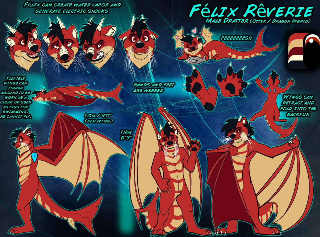 SFW reference sheet